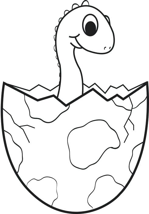 490x700 Cartoon Baby Dinosaur Coloring Page Unique Pages Ideas On Projects