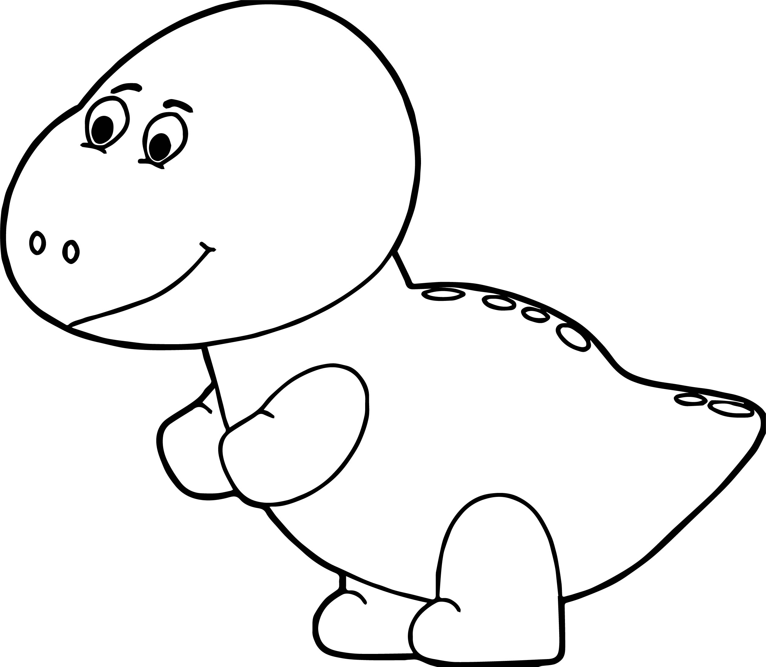 2511x2188 Pink Baby Dinosaur Coloring Page Wecoloringpage