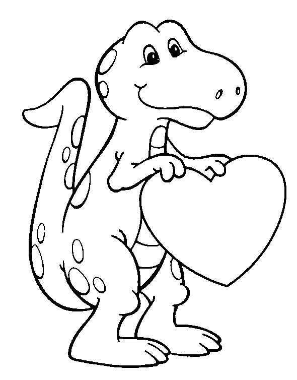 590x754 Simple Ideas Free Dinosaur Coloring Pages T Rex Baby Dinosaurs