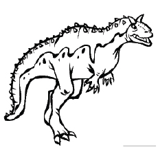 230x230 Top 25 Free Printable Unique Dinosaur Coloring Pages Online