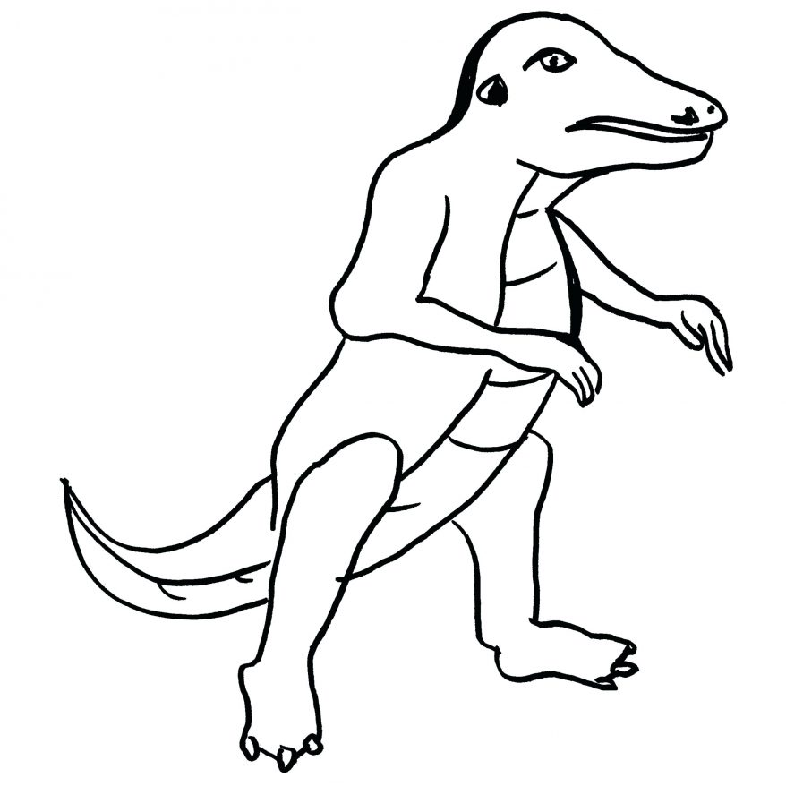 878x878 Dinosaur Coloring Pages 50 Astounding Allosaurus Page Baby Baby