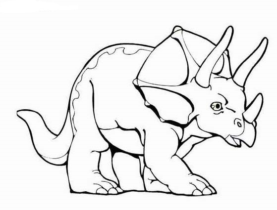 559x425 Dinosaurs Coloring Pages