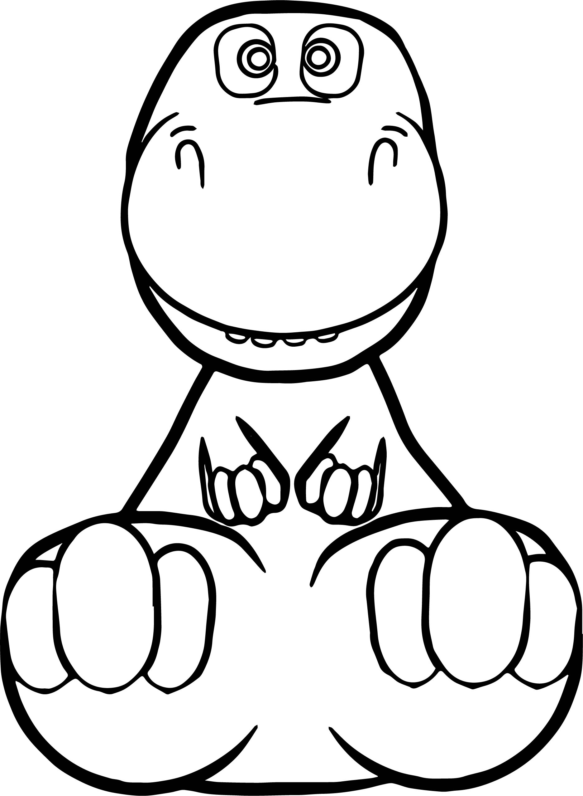 Baby Dinosaur Coloring Pages | Free download on ClipArtMag