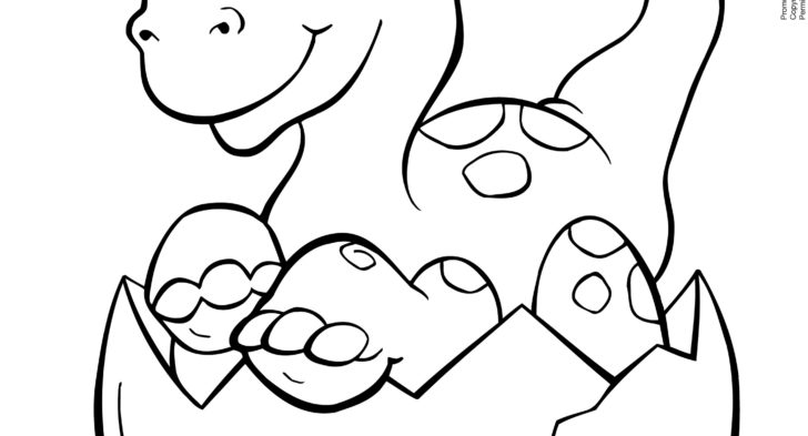 Baby Dinosaur Coloring Pages | Free download best Baby Dinosaur ...