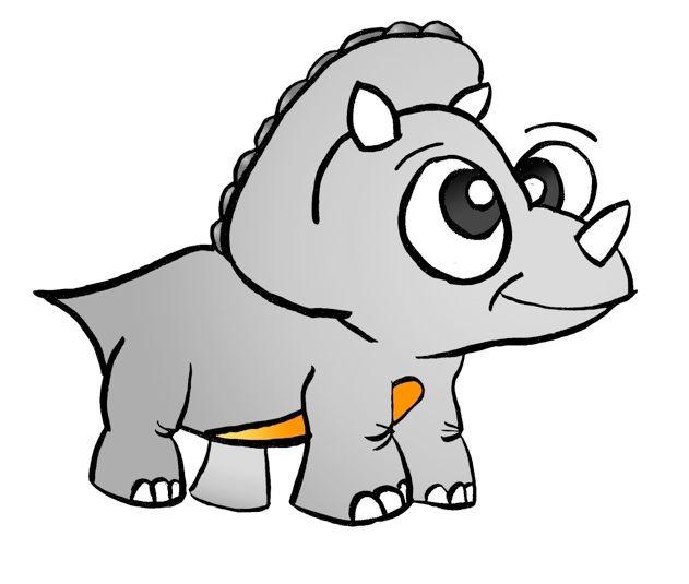 631x535 Cartoon Dinosaur
