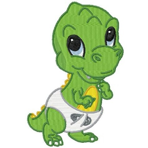 479x479 Cute Baby Dinosaurs Clipart