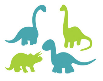 340x270 Cute Silhouette Of Dinosaurs Silhouette Design Store