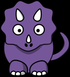 273x298 Purple Baby Dinosaur Clip Art