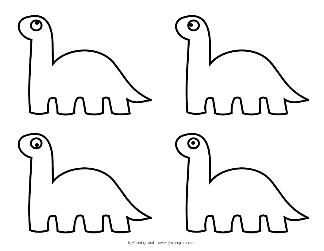1056x816 Cute Dinosaur Coloring Pages