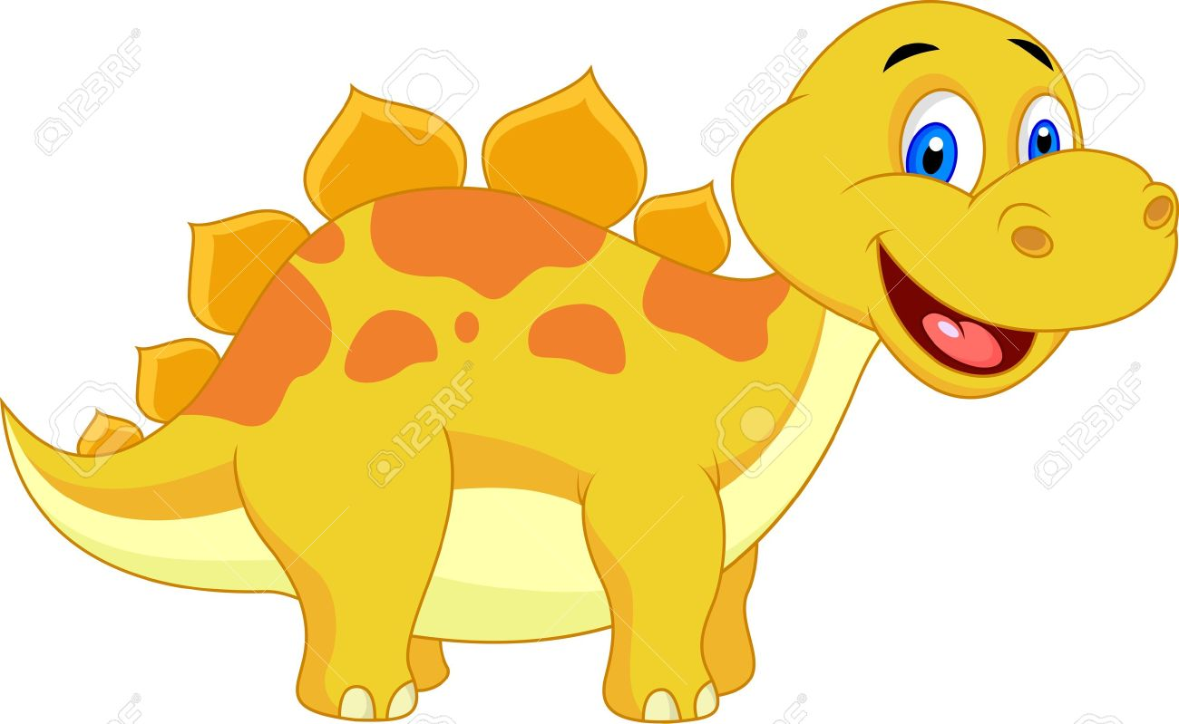 1300x799 Dinosaur Clipart Yellow