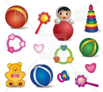 400x359 Set Of Baby Toys