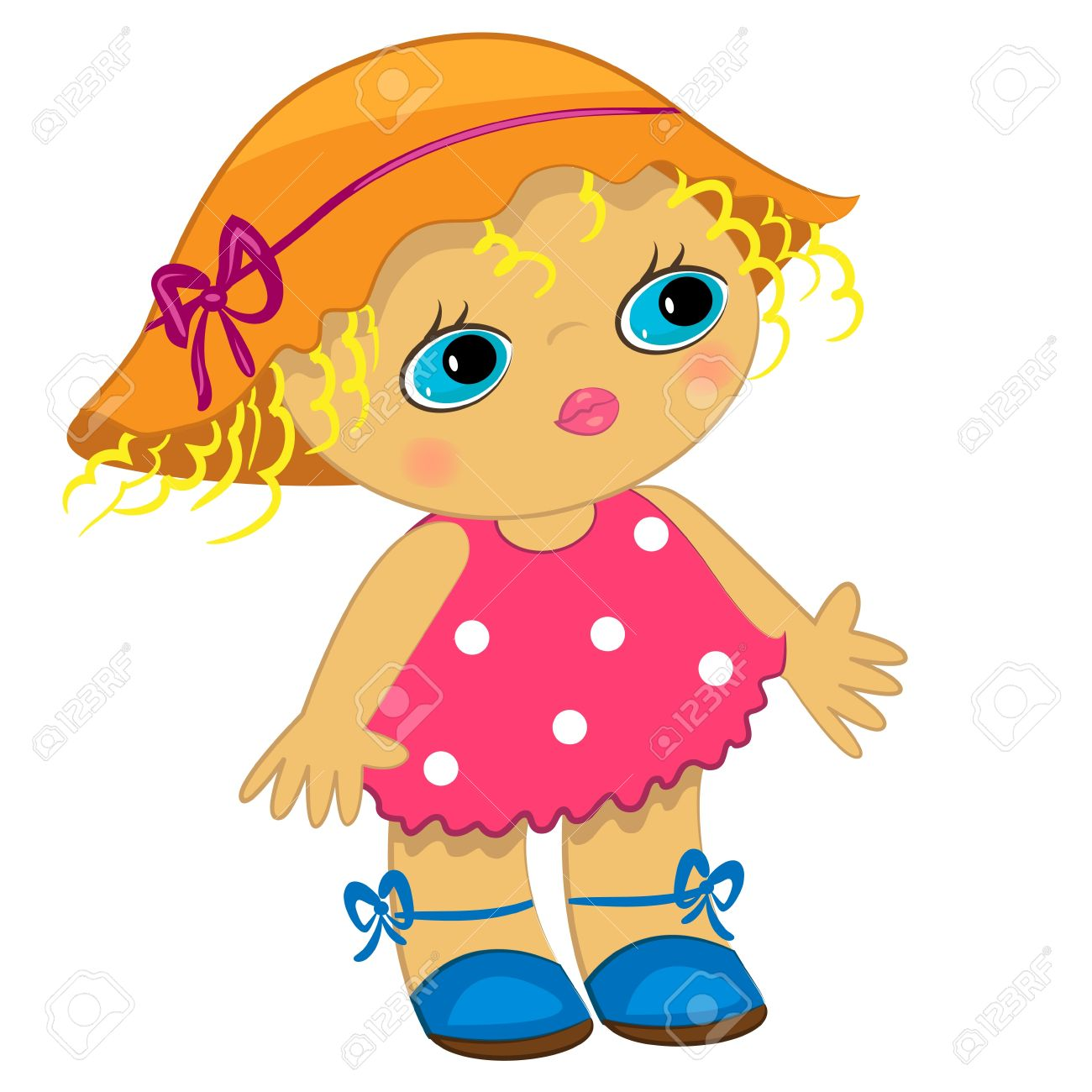 1300x1300 8,273 Baby Doll Stock Illustrations, Cliparts And Royalty Free