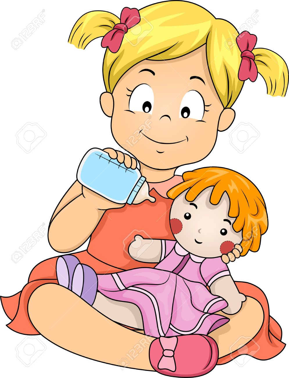 995x1300 Baby Doll Clipart