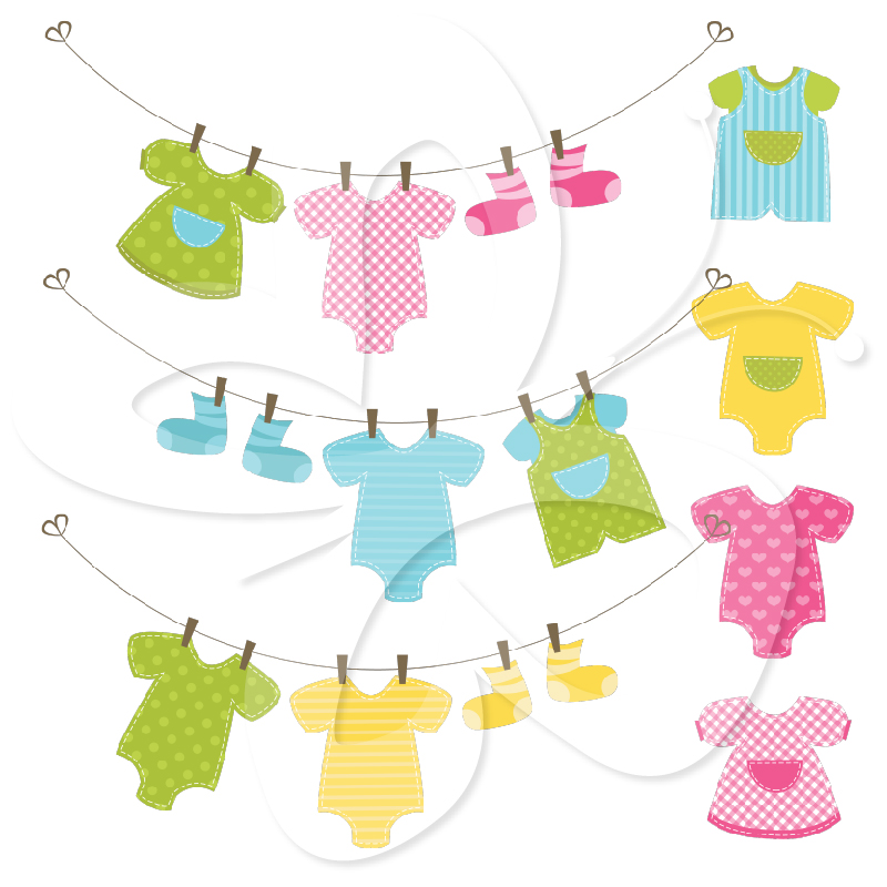 800x800 Baby Clothes Clipart