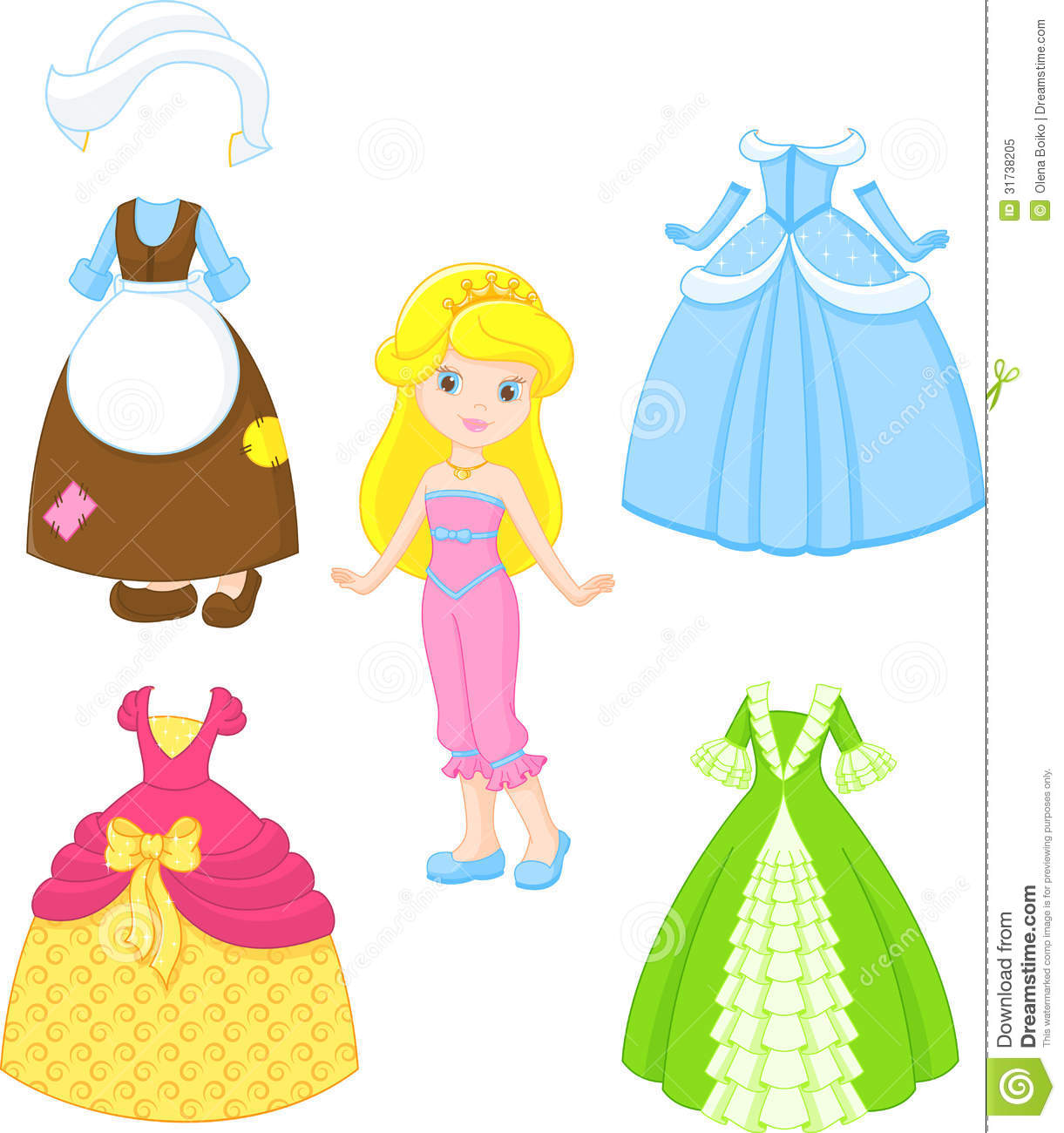 1221x1300 Baby Doll Dress Clipart