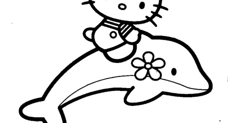 728x393 Baby Dolphin Coloring Page Great Free Dolphin Coloring Pages 23
