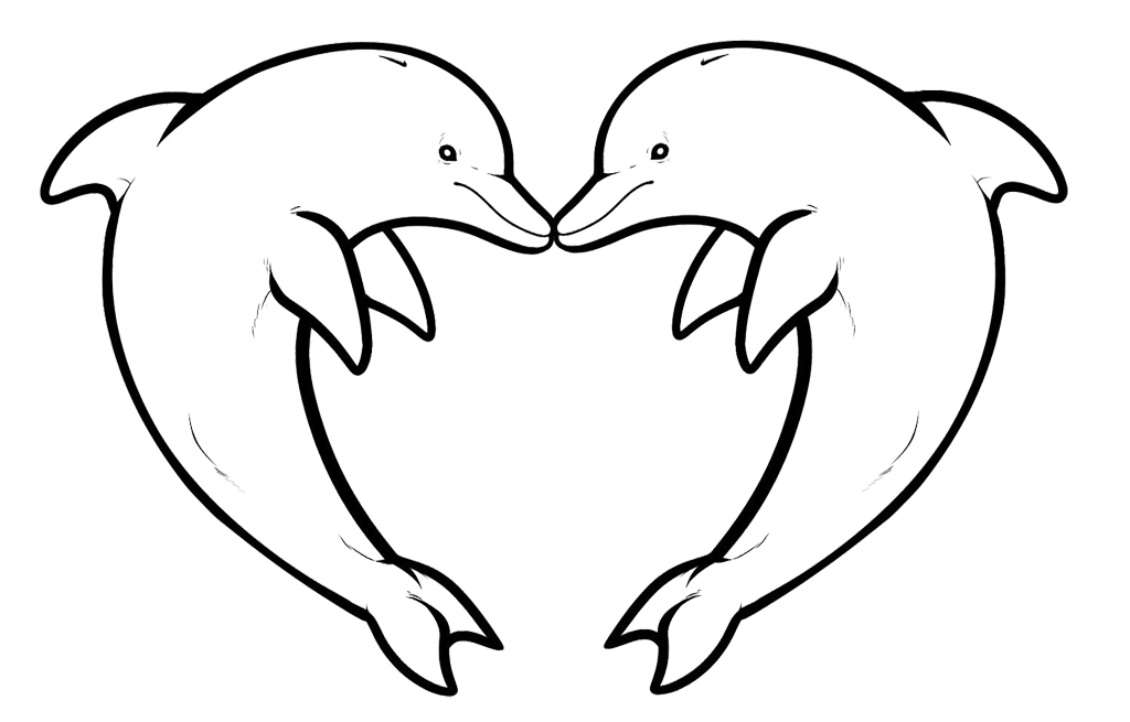 1024x655 Lovely Baby Dolphin Coloring Pages 91 On Gallery Coloring Ideas
