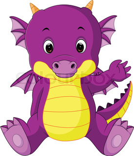 275x320 Cute Baby Dragon Cartoon Dragon's Baby Dragon