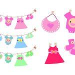 150x150 Baby Dress Clipart Ba Clothes Clip Art Clip Art Library Print