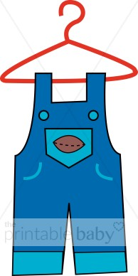 194x388 Overalls Clipart Baby Clothing Clipart