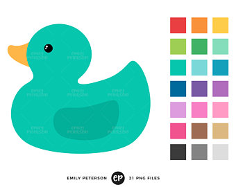 340x270 Duck Clipart Etsy