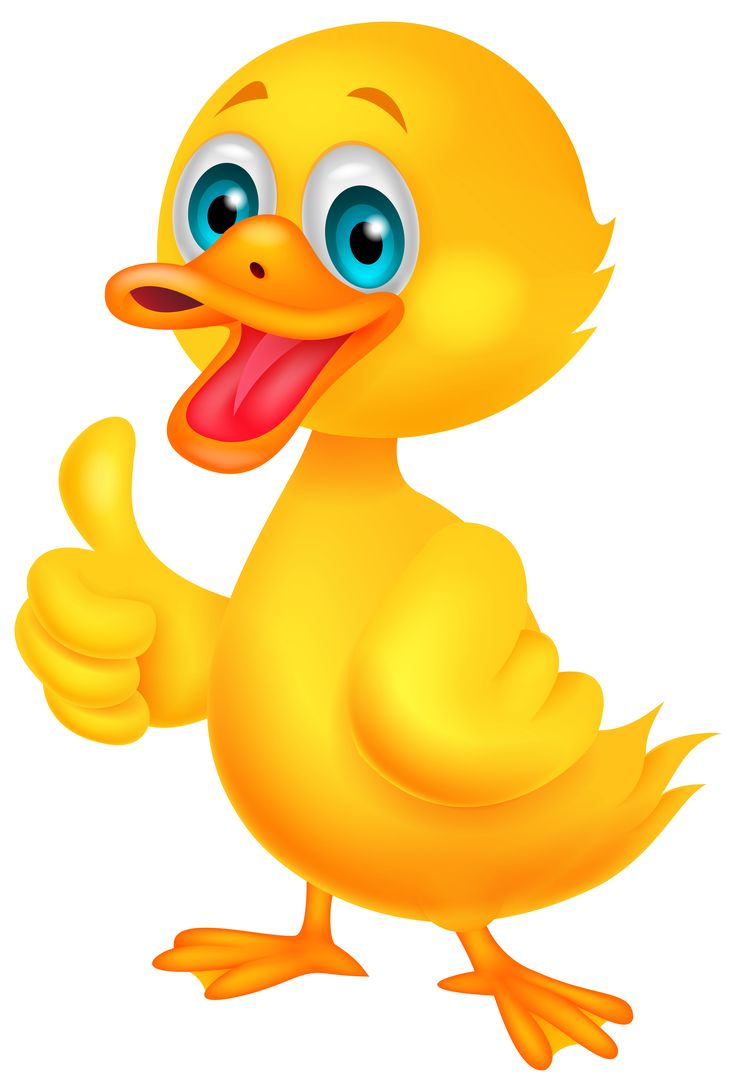736x1092 Duckling Clipart Funny Duck