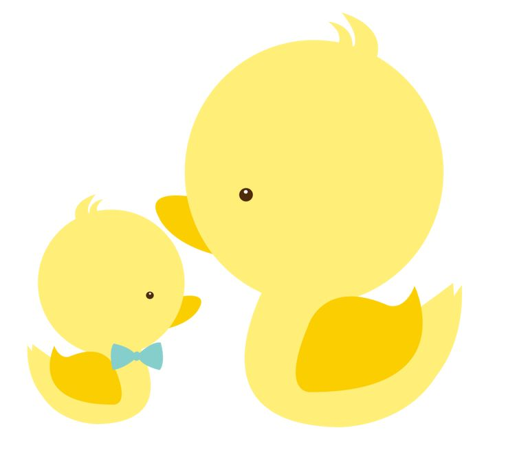 736x658 Mommy Clipart Baby Duck