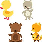 170x170 Baby Duck Clip Art