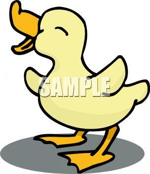303x350 Cute Baby Duck