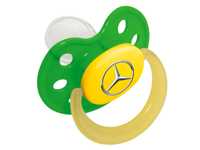 640x480 Genuine Mercedes Benz Babies Dummy Pacifier B66953249 Ebay