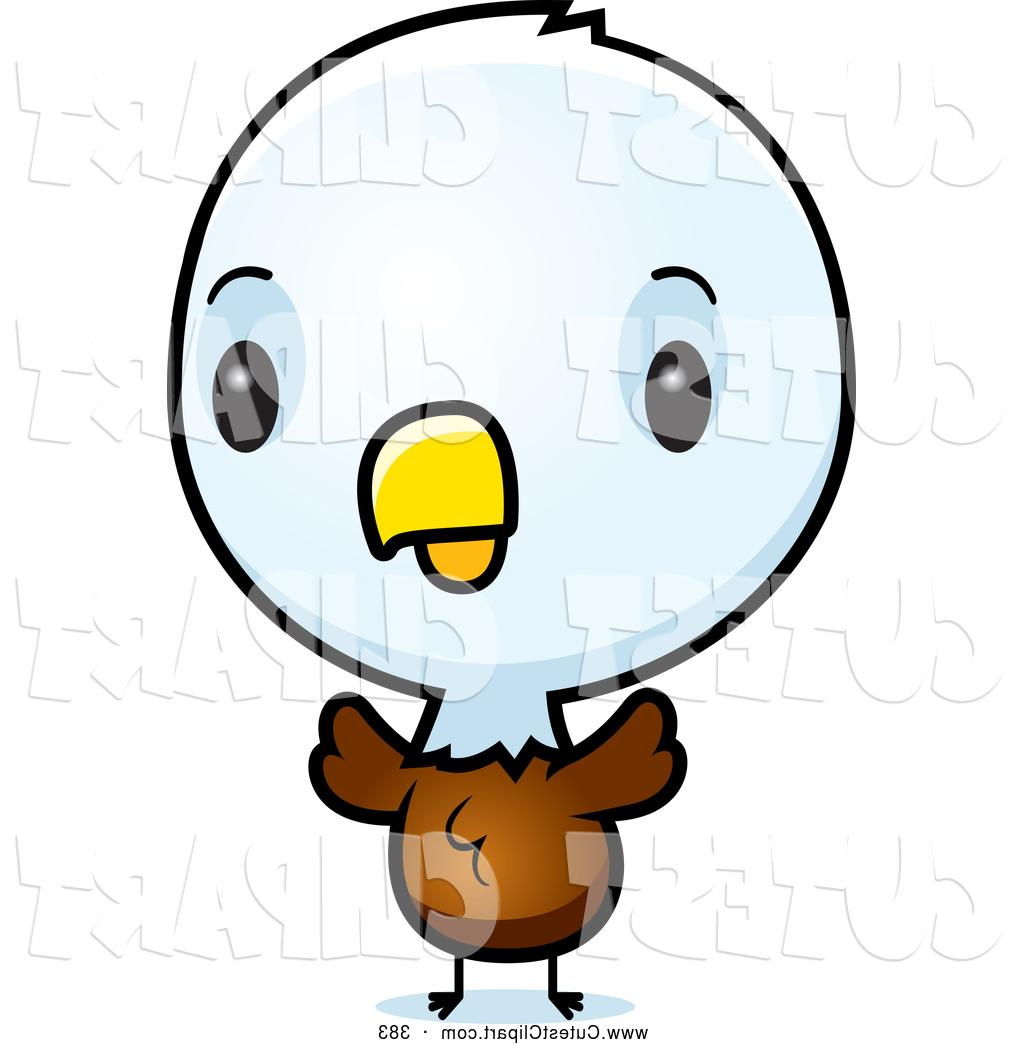 1024x1044 Cartoon Vector Clip Art Of Baby Bald American Eagle Chick By Cory