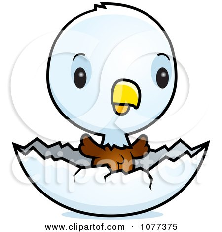 450x470 Royalty Free (Rf) Baby Bald Eagle Clipart, Illustrations, Vector