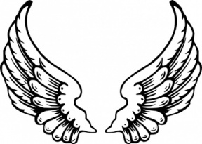 288x205 Eagle Heart Clipart