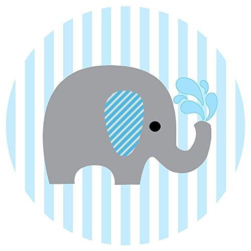 500x500 Blue Clipart Baby Elephant