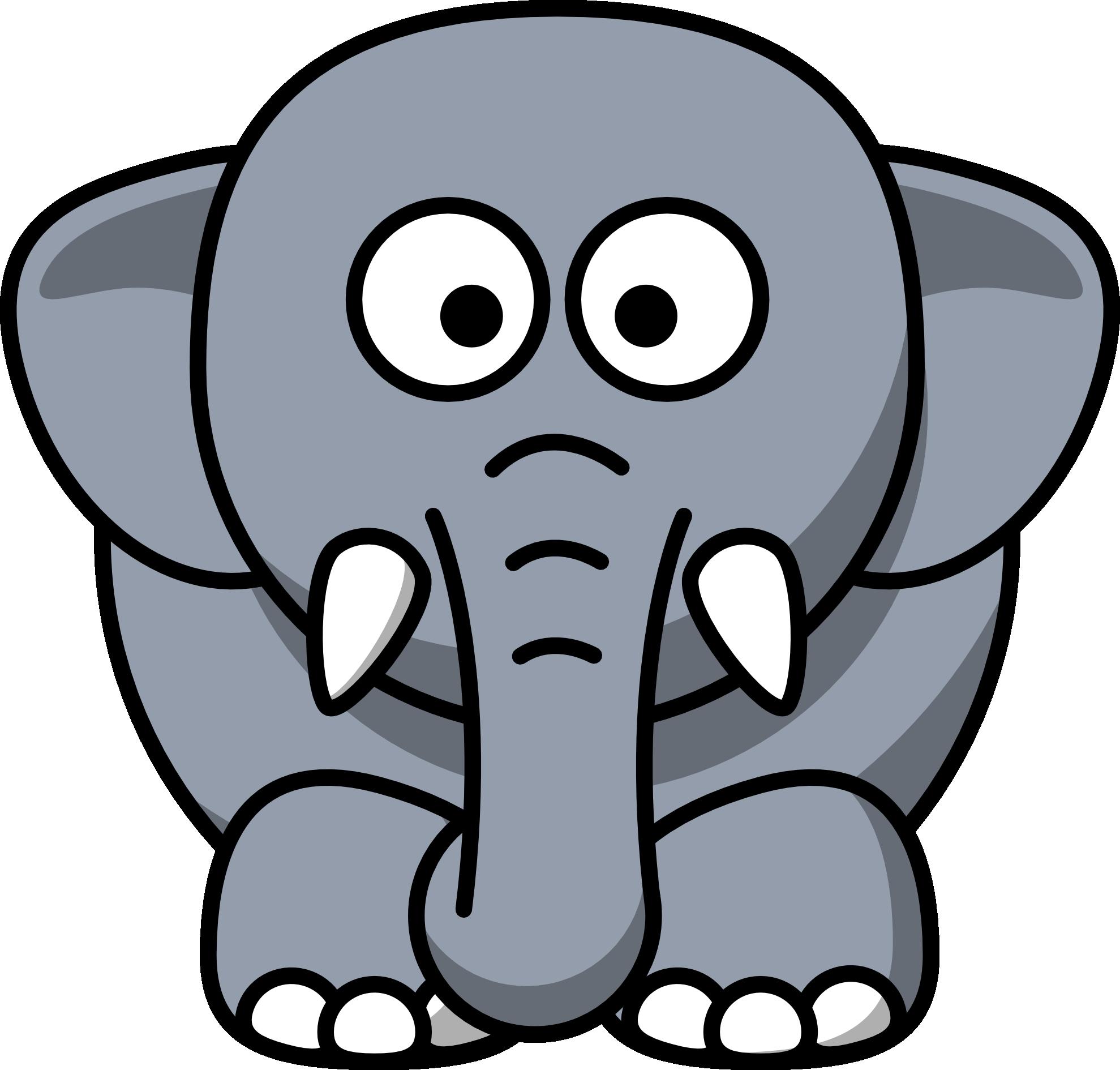 1979x1890 Cute Baby Elephant Clip Art Clipart