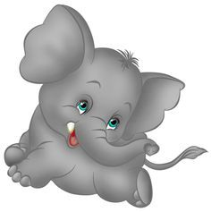 Baby Elephant Clipart Free