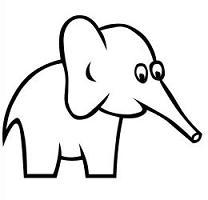 208x200 Elephant Ear Clipart