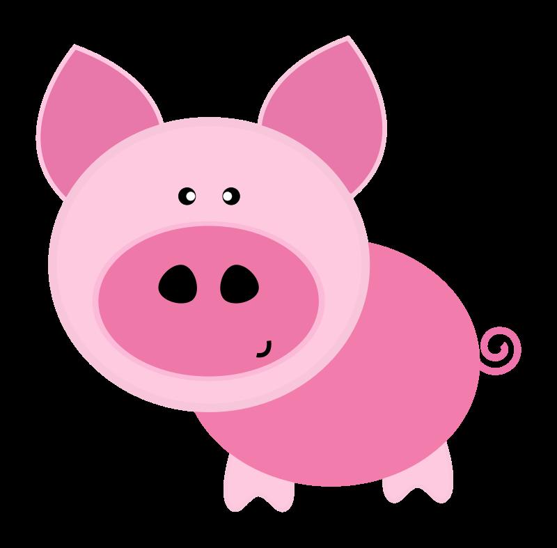 800x787 Baby Animal Clipart Piggy