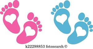 300x158 Baby Feet Clip Art Vector Graphics. 1,114 Baby Feet Eps Clipart