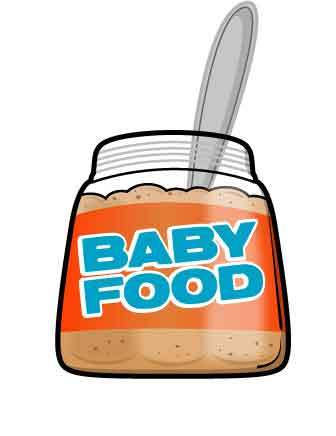 336x436 Baby Food Clipart