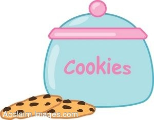 300x235 Cookies And A Cookie Jar Clip Art