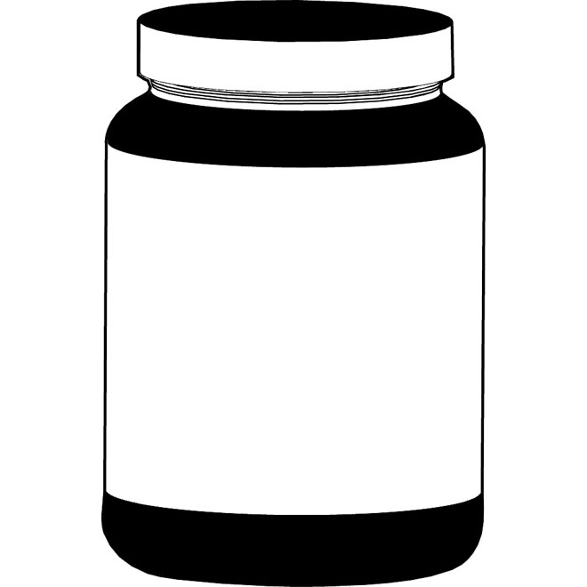 660x660 Jar Clipart Food Container