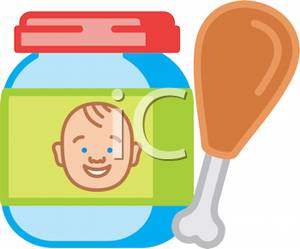 300x249 Baby Food Clipart