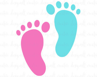 340x270 Baby Monogram Svg Baby Feet Svg Nursery Svg Baby Feet