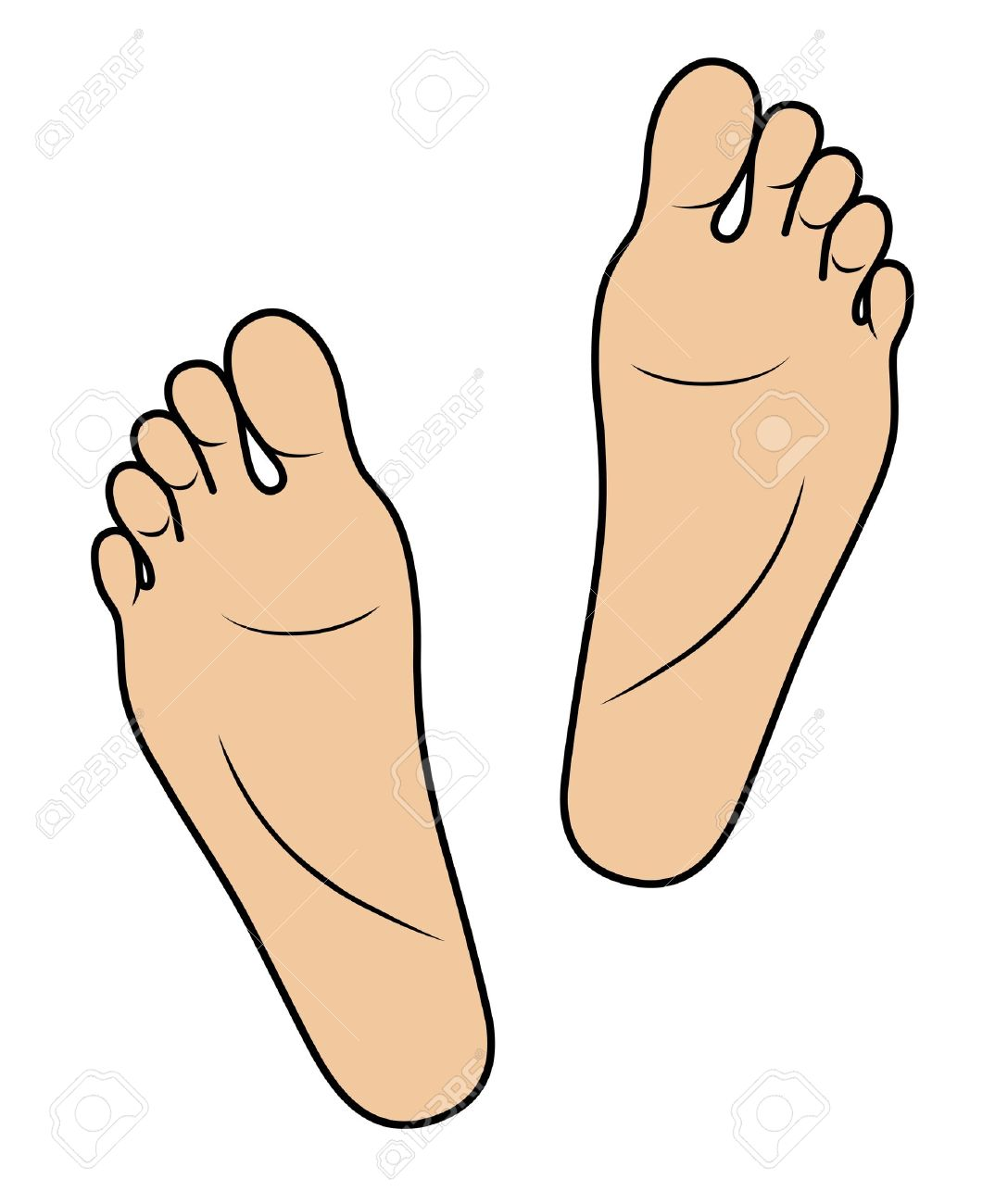 1074x1300 Clipart Of Feet