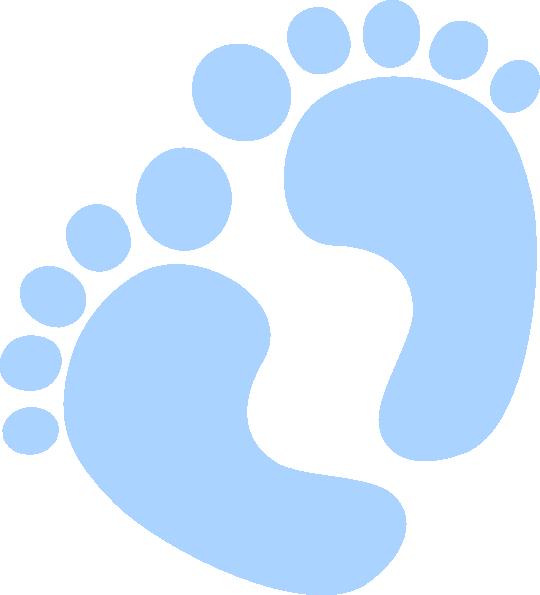 540x595 Baby Feet Clip Art