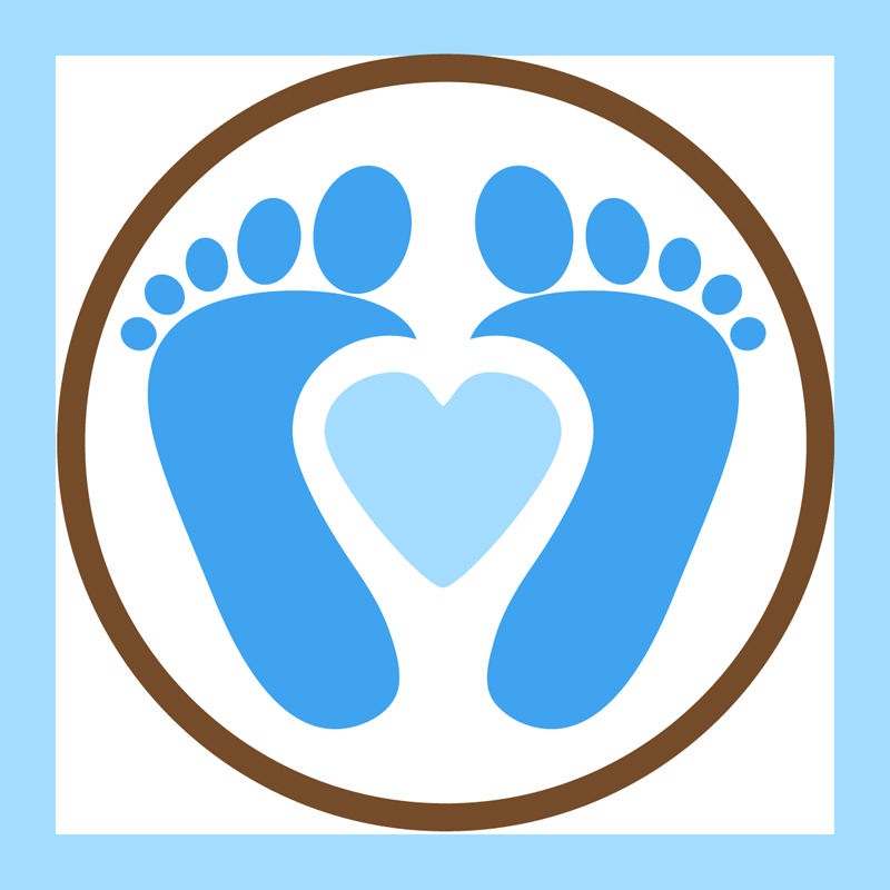 800x800 Heart Feet Cliparts