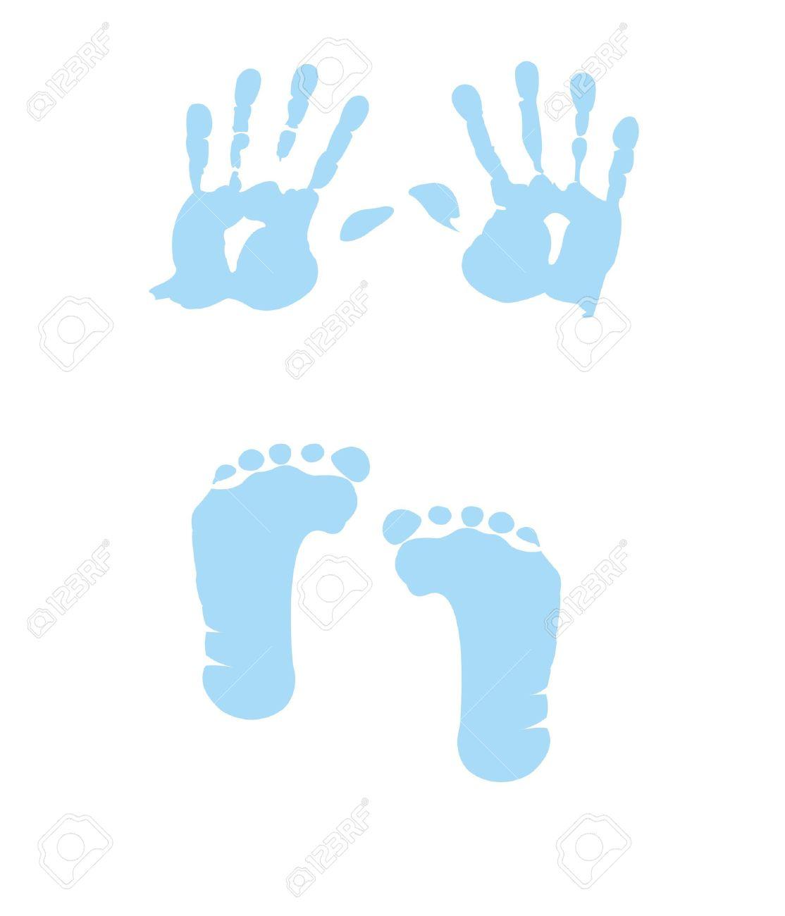 9007ecd78f90 Baby Footprints Clipart