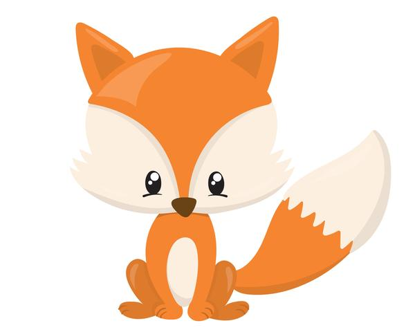 600x480 Fox clipart animated baby
