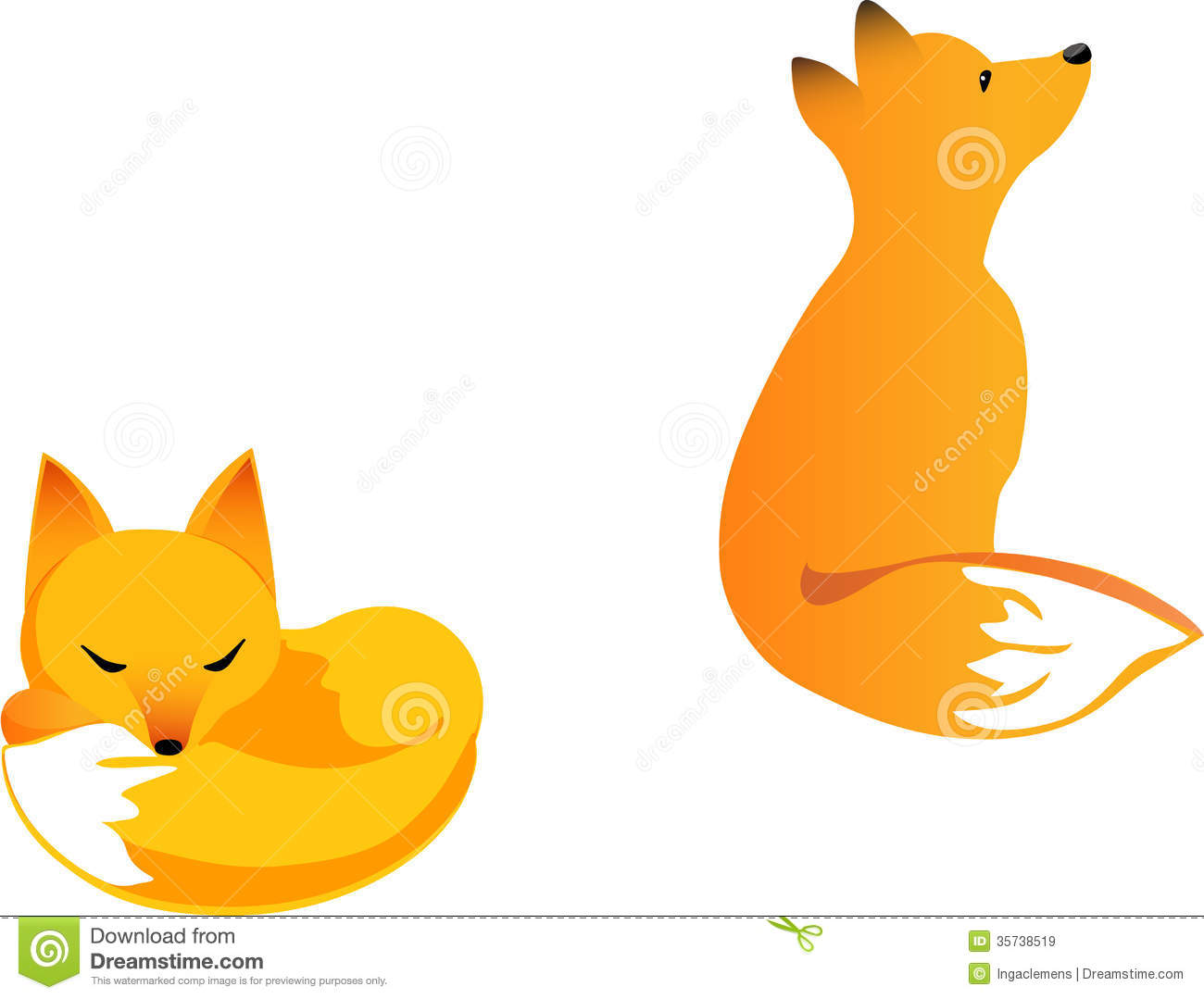 1300x1079 Baby Fox Clip Art Fox cubs Dishes Clip art and Foxes